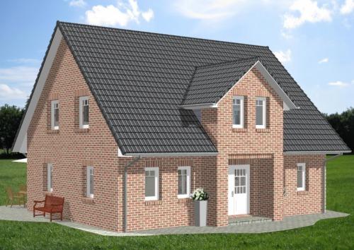 Einfamilienhaus HG 145 mit Herrengiebel
