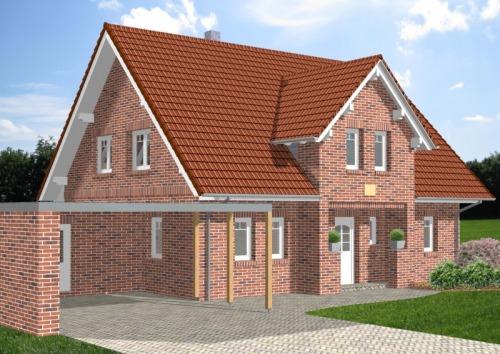 Einfamilienhaus HG 172 mit Herrengiebeln