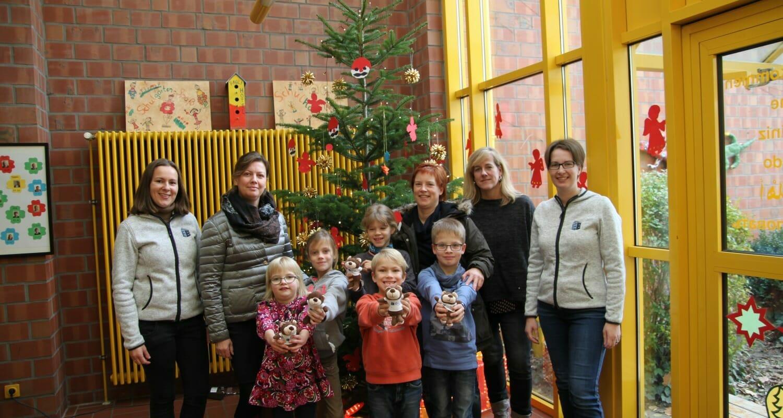 Weihnachtsaktion 2016 – Grundschule am Paulsberg gewinnt!